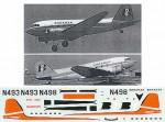 1-144-Douglas-DC-3-Dakota-BONANZA-N493-N498
