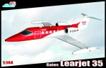 1-144-Gates-Learjet-35A-Decals-DRF-Luftrettung-D-CCA-Germany