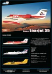 1-144-Gates-Learjet-35A-decals-for-Wards-Express-Company-VH-WFJ-Australia-PRE-ORDER