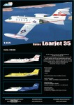 1-144-Gates-Learjet-35A-decals-for-C-21A-serial-number-84-0099-PRE-ORDER