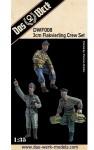 1-35-3cm-Flakvierling-Crew-Set