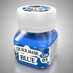 Quick-Mask-Blue