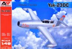 1-48-Yak-23DC-Training-Fighter-Romanian-AF-1956