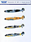 1-32-Decal-Bf-109F-4-in-Spanish-service