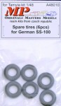 1-48-Spare-tires-for-German-SS-100-6-pcs-