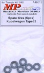 1-48-Spare-tires-for-Kubelwagen-Type-82-6-pcs-