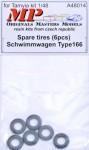 1-48-Spare-tires-Schwimmwagen-Type-166-6-pcs-
