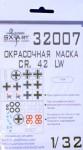 1-32-Fiat-CR-42-LW-Paint-Mask-ICM