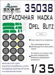1-35-Opel-Blitz-Painting-mask-TAM