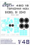 1-48-Siebel-Si-204D-Painting-Mask-SP-HOBBY