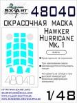 1-48-Hawker-Hurricane-Mk-I-Painting-mask-AIRF