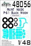 1-48-P-61-Black-Widow-Painting-mask-HOBBYB