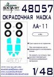1-48-Lavochkin-La-11-Painting-mask-ARK
