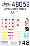 1-48-Lavochkin-La-11-Painting-mask-MAX-ARK