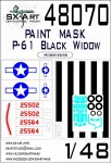 1-48-P-61-Black-Widow-Painting-mask-MAX-HOBBYB