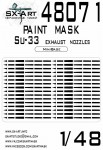 1-48-Su-33-Painting-mask-EXH-NOZZLES-MINIBASE