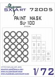 1-72-Su-100-Painting-Mask-ZVE