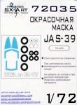 1-72-JAS-39-Gripen-Painting-Mask-ITALERI
