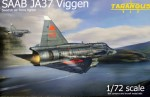 1-72-SAAB-JA37-Viggen-Swedish-AF-Fighter-2x-camo