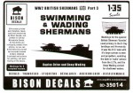 RARE-1-35-Wading-and-Swimming-Shermans-SALE