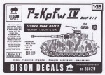 RARE-1-35-Pz-Kpfw-IV-Ausf-H-J-France-1944-Pt-1-9-SALE