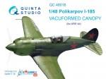 1-48-Vacu-canopy-for-Polikarpov-I-185-ARK