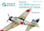 1-32-Nakajima-A6M2b-3D-Print-and-col-Interior-TAM