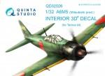 1-32-Mitsubishi-A6M5-3D-Print-and-col-Interior-TAM