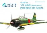 1-32-Nakajima-A6M5-3D-Print-and-col-Interior-TAM