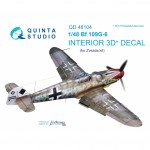 1-48-Bf-109G-6-3D-Print-and-colour-Interior-ZVE