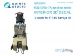 1-32-GRU-7A-ejection-seats-for-F-14A-TAM-2-pcs-